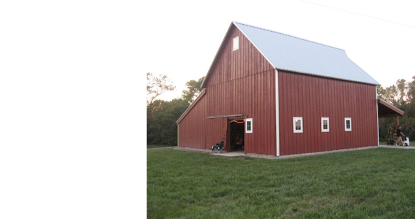 Experience the Fresh Air and Privacy at The Barn at Benson Farms